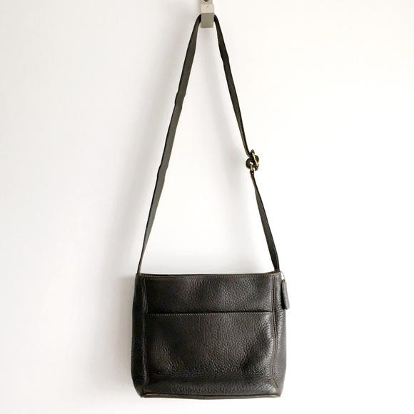 Coach Handbags - Coach | Vintage Dark Brown Shoulder Bag